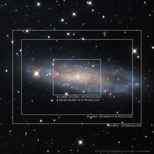 Caméra ToupTek EP3-2300-KMC Deep Sky Mono