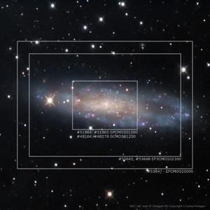 ToupTek Fotocamera EP3-20000-KPA Deep Sky Color