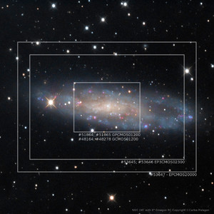 ToupTek Kamera EP3-20000-KPA Deep Sky Color