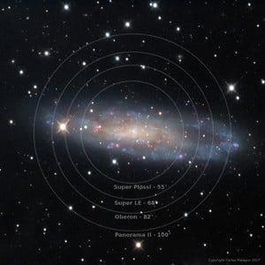 "Omegon LE Planetary Oculaire de 14,5mm 1,25"""