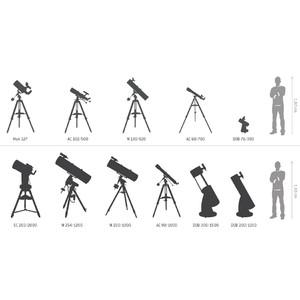 Bresser Telescopio AC 102/1000 Messier Hexafoc EXOS-2 GoTo SET