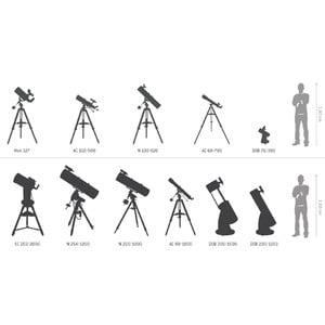 National Geographic Telescopio Dobson N 76/350, compacto, DOB