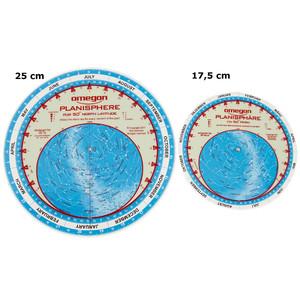 Omegon Star chart Sternkarte 17,5cm / 50°