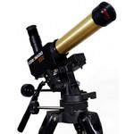 De telescoop is voorzien van een 1/4