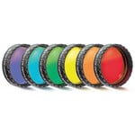 Baader Eyepiece filter set 1 ¼ ' - 6 colors (flat-optically polished)