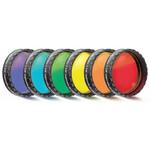 """Baader Juego de filtros para oculares, 1,25"""", 6 colores (de pulido planóptico)"""