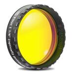 """Baader Filtro ocular amarillo de 1,25 """" de 495 nm de paso de longitudinal (de pulido planóptico)"""