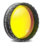 "Baader Planetarium 1.25"" yellow longpass eyepiece filter, 495nm (plane-optical polished)"