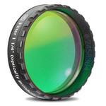 "Baader 1.25"" eyepiece filter, green, 500nm bandpass (plane-optical polished)"