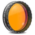 "Baader Filtre orange 1,25"" bande passante 570 nm (poli miroir plan)"