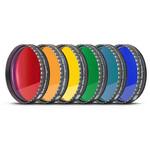"""Baader Juego de filtros para oculares, 2"""", 6 colores (de pulido planóptico)"""