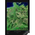 albedo 39 Mapa de satélite: Alemania