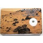 Meteoríto de Marte autêntico NWA 6963