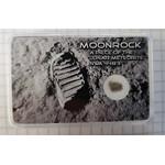 Meteorito lunar auténtico NWA 4483, grande