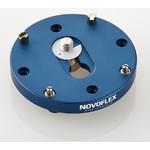 Novoflex Q=PL 6x6 Schnellwechselplatte rund verdrehsicher