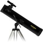 Das Teleskop lässt sich auf jede Körpergröße einstellen, sowohl auf die Höhe von Kinderaugen als auch von erwachsenen Personen.