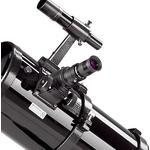 Le chercheur est votre dispositif de visée pour localiser les objets. Le porte-oculaire permet d'utiliser tous les oculaires au coulant de 31,75 mm, pour différents grossissements.