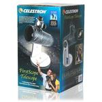 The telescope comes fully pre-assembled in an attractive gift box.
