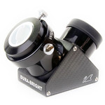 William Optics Dura Bright - Renvoi coudé à miroir 50,8 mm, traitement diélectrique, lambda 1/15, réflectivité 99%