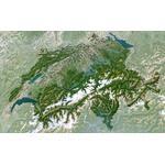 Planet Observer Landkaart Zwitserland