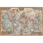 RayWorld Harta lumii Hartă antică Executive, laminată