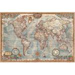 RayWorld Mapamundi Mapa antiguo Executive, laminado