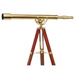 Helios Optics Brass telescope MT 60/1000 28x