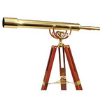 Helios Optics Brass telescope MT 80/1000 28x