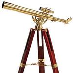 Omegon Telescópio de latão MT 60/700 28x