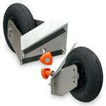 euro EMC Set de ruedas neumáticas de Ø200 mm