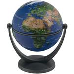 Stellanova Mini-Globus Dreh-Schwenk Globus Satellitenbild 881049 mit IQ-Quiz