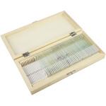 Omegon Dauerpräparate Set 40 Stück in Holzbox