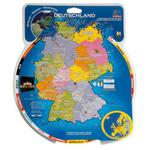 HCM Kinzel Deutschland & Europa rotating disc map