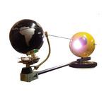 Tellurium mit Beleuchtung 85cm, manueller Antrieb