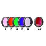 "Baader Set filtri LRGBC-H-alpha 7nm 1,25"""