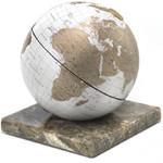 Zoffoli Globe Stone White 22cm