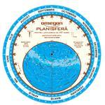 Omegon Harta cerului planisfera