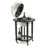 Zoffoli Bar em globo Elegance Black/ Warm Grey 40cm