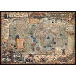 RayWorld Harta The Age of Pirates - lumea secretă a piraţilor