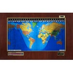 Geochron Original Kilburg in real mahogany veneer gold bordered design