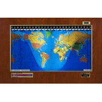 Geochron Original Kilburg in real cherry veneer gold bordered design