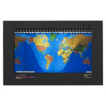 Geochron Original Kilburg in black goatskin plastic black bordered design