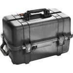 PELI Valise M1460 noire, avec cubes en mousse