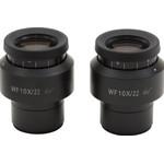Optika ST-144 WF25X / 9mm eyepieces (pair) for Modular Series SZN microscope heads