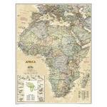 National Geographic Mapa antyczny Afryka