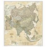 National Geographic Carte antique de l'Asie