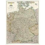 Carte géographique National Geographic Allemagne