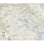 National Geographic Mappa Carta dell'Iraq