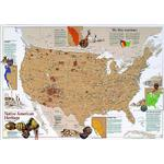 National Geographic Map American native inheritance