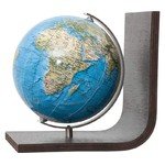 Columbus Duorama globe bookend, TING compatible